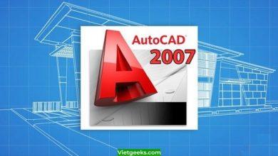 AutoCAD 2007 được sử dụng phổ biến trong thiết kế 2D và 3D