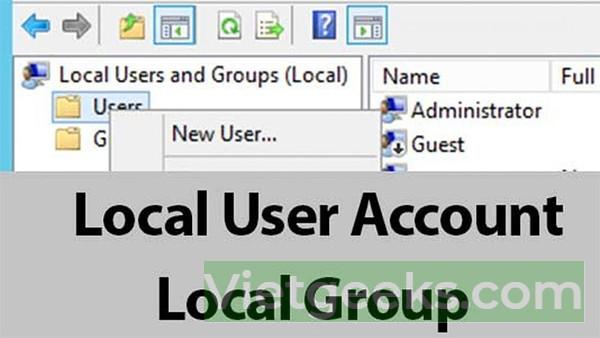 Cách đổi tên Win 10 bằng công cụ Local Users and Groups