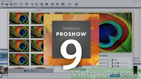 Proshow Gold 9 tải miễn phí với phiên bản mới nhất