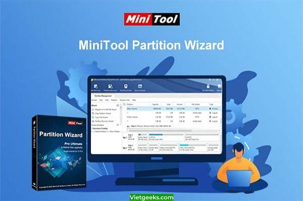 Tìm hiểu về ứng dụng minitool partition wizard full