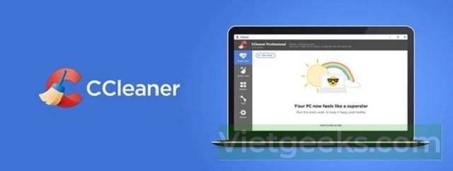 Các bước cài đặt ccleaner pro tự động dọn dẹp