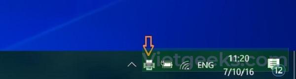 Cách hủy lệnh in máy tính Win 10 bằng thanh Taskbar