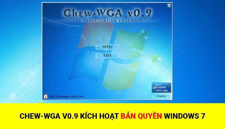 Phần mềm Chew WGA