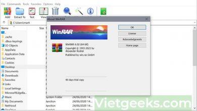 Giải nén WinRAR mang đến trải nghiệm tốt nhất cho người dùng