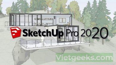 Giới thiệu các thông tin cơ bản về phần mềm SketchUp 2020