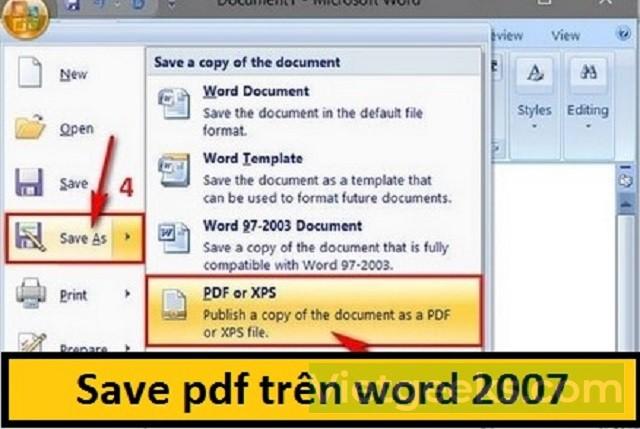 Microsoft office 2007 sở hữu nhiều tính năng nổi trội và hữu ích