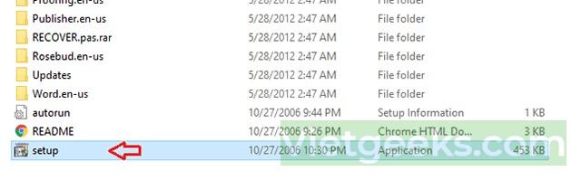 Mở file Setup để tiến hành cài đặt