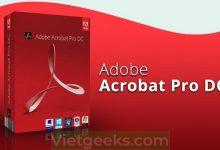 Phần mềm Adobe Acrobat Pro DC