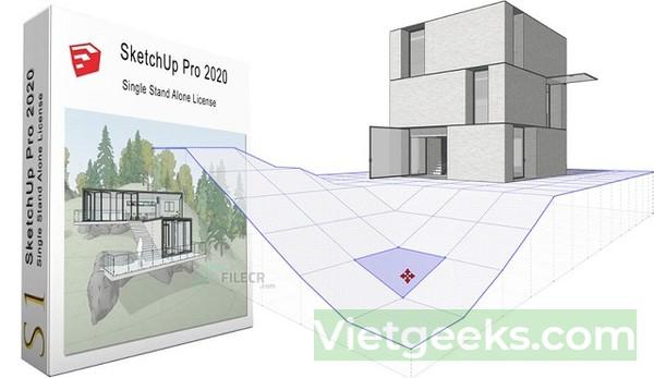 Phần mềm SketchUp sở hữu nhiều tính năng ưu việt
