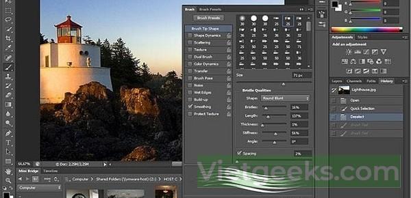 Tính năng cập nhật mới nhất của phần mềm Adobe Photoshop CS6