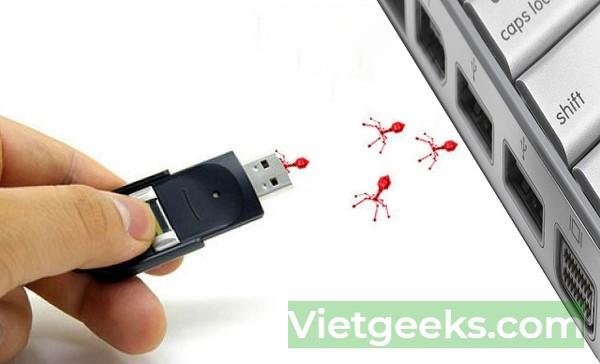 Virus xâm nhập qua cổng USB và ăn mất các dữ liệu quan trọng