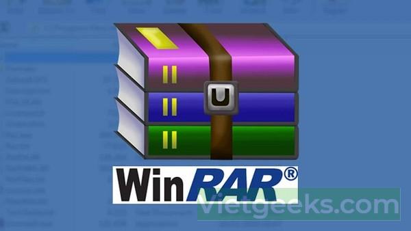 WinRAR là phần mềm nén và giải nén được nhiều người sử dụng nhất