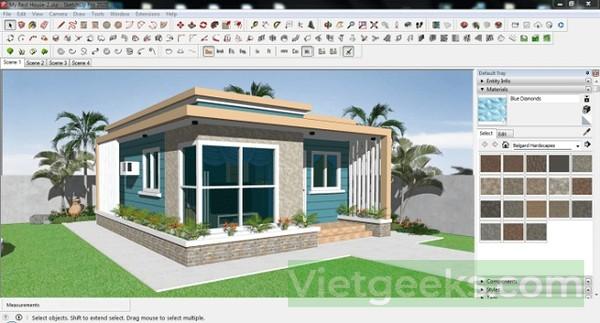 Xem nhiều tiện ích mới của phần mềm SketchUp 2020