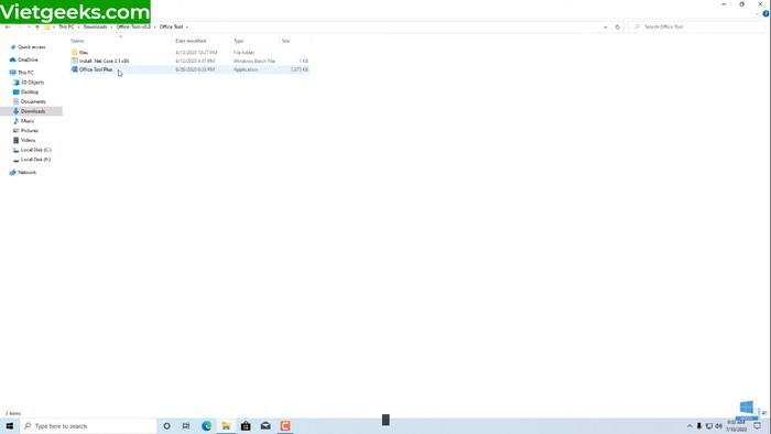 """Nhấn chuột vào """"Office Tool Plus"""" để mở"""